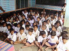 Základní škola v Indii
