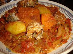Couscous met vis