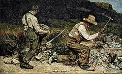 De Steenbrekers was een schilderij van Gustave Courbet, gemaakt in 1849. Het is verloren gegaan in een brand in 1945.