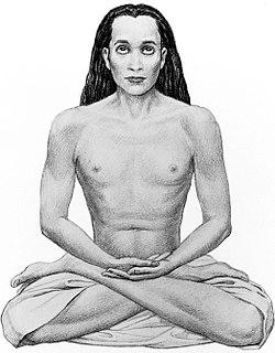 Mahavatar Babaji, ein bekannter hinduistischer Yogi im Himalaya.