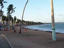 Jatiuca strand in Maceio