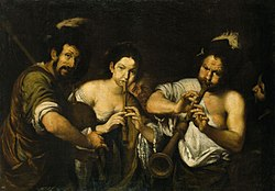 "Bernardo Strozzi ""Kontsert"", 1630/31, Kadrioru kunstimuuseum."