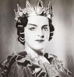 Birgit Nilsson als Lady Macbeth, 1947