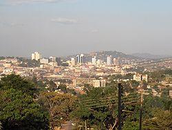 Kampala, hoofdstad van Oeganda