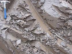 Jak wyglądają gliny: Estońska glina z epoki czwartorzędu