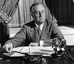 Franklin D. Roosevelt was de enige Amerikaanse president die vier keer werd verkozen. In 1951 werd het presidentschap van de VS door het 22e amendement beperkt tot twee termijnen