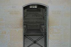 Grób Victora Hugo i Émile Zola.
