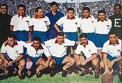 Een Huracán line-up van 1946.
