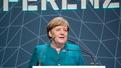 Канцлер Ангела Меркель.