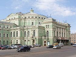 Het Mariinsky Theater, Sint Petersburg, Rusland