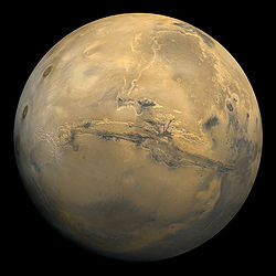 Mars by Viking 1 in 1980