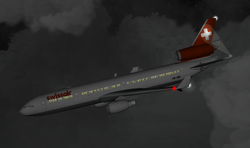 Rappresentazione del volo 111 della Swissair