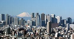 Tokyo, is 's werelds dichtstbevolkte metropool.