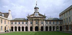 De kapel van Emmanuel College