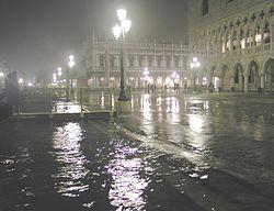 """""""Acqua alta"""" in San Marco"""