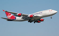 Boeing 747-400 linii Virgin Atlantic