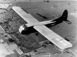 Kluzák Waco CG-4 amerického armádního letectva