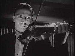 "Yehudi Menuhin in dem Film ""Stage Door Canteen"" (1943)"