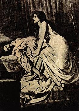 The Vampire , door Philip Burne-Jones, 1897