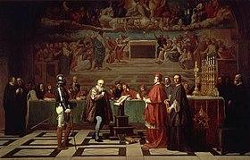 Galileo Galilejs notiesāts par ķeceri