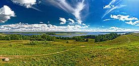 Strusta-See in der Provinz Witebsk