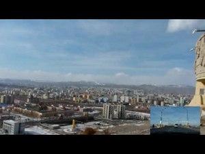 Media afspelen Ulaanbaatar uitzicht vanaf de Zaisan heuvel
