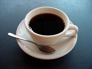 Een kopje koffie.