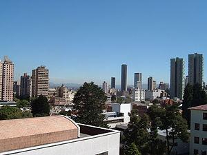 Bogotá ist die Hauptstadt Kolumbiens und die zweitgrößte Hauptstadt Südamerikas