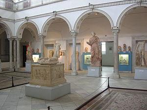Bardo Nationaal Museum, op de foto in januari 2005