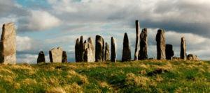 Калланишские стоячие камни на Внешних Гебридах...