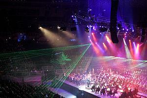 Klassikalise muusika kontsert Rod Laver Arenal, Melbourne, Austraalia, 2005