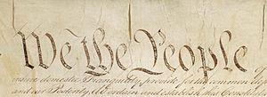 """De grondwet bevat veel republikeinse ideeën, te beginnen met """"Wij het Volk"""""""