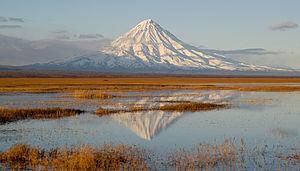 Forse il cono vulcanico più perfetto del mondo: il vulcano Kronotsky