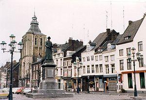 Statue af Minckeleers i Boschstraat