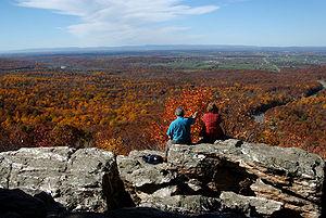 La Shenandoah Valley in autunno