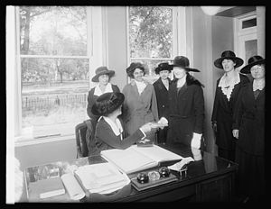 Women's Bureau in 1920