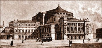 Het Mariinsky Theater in 1890