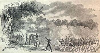 Batalha de Boonville, primeira batalha do Exército do Oeste