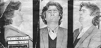 Foto's genomen toen Karadžić werd gearresteerd in 1984