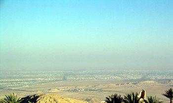 Pogled na Al Ain