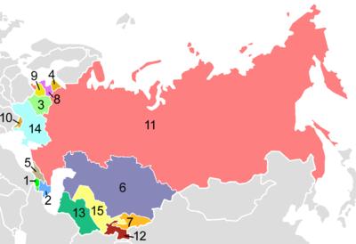 崩壊前のソ連