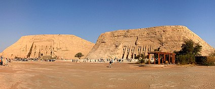 De tempels van Abu Simbel