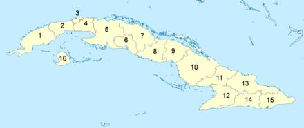 Provincies van Cuba