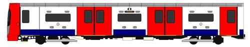 Een schema van de rijdende auto van het buizenbestand 2009.