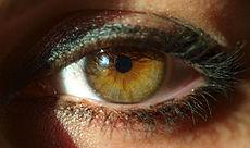 Full-on mascara geeft een dramatischer effect