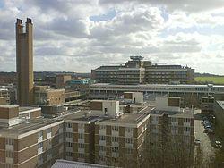 Addenbrooke's Ziekenhuis heeft een sterke band met de Universiteit.