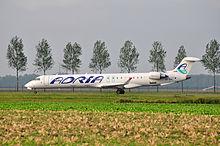 Een Adria-vliegtuig.