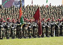 Wyszkolona przez NATO Afgańska Armia Narodowa (ANA).