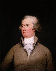 约翰-特伦布尔的亚历山大-汉密尔顿肖像,1792年。