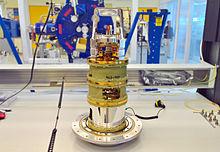 Band 5 ALMA-ontvanger is een instrument dat speciaal is ontworpen om water in het heelal te detecteren.